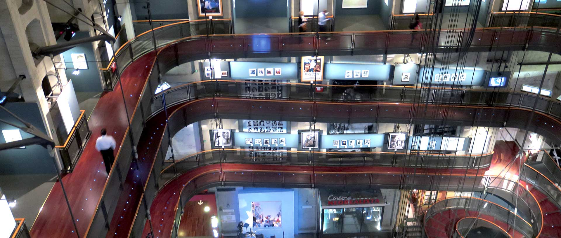 Museo Del Cinema.Museo Nazionale Del Cinema Turin Italy